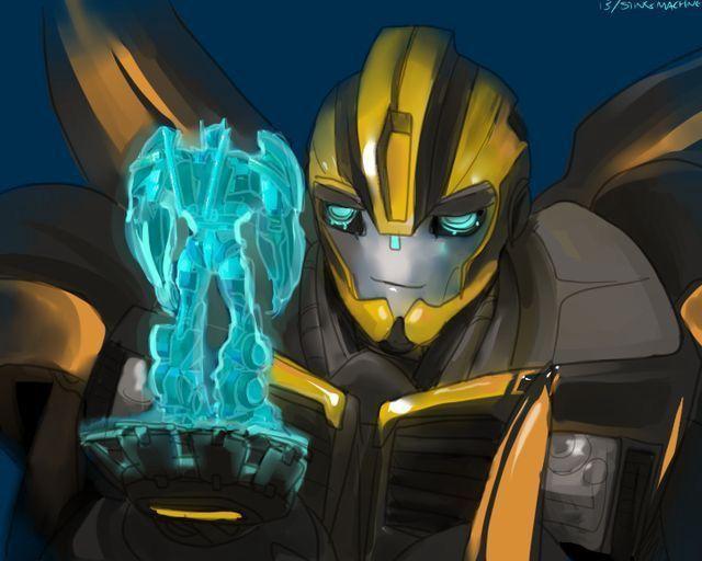 Transformers imágenes y ONE SHOTS - Optimus y bumblebee