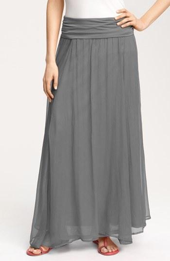 Max & Mia Crinkled Maxi Skirt | Nordstrom