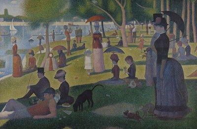 Sunday Afternoon on the Island of La Grande Jatte, Seurat: Analysis