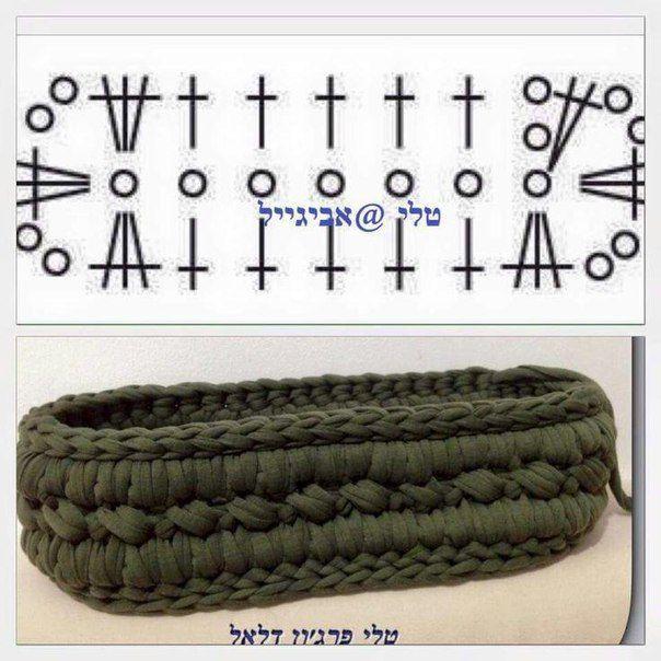 Вязание из шнура