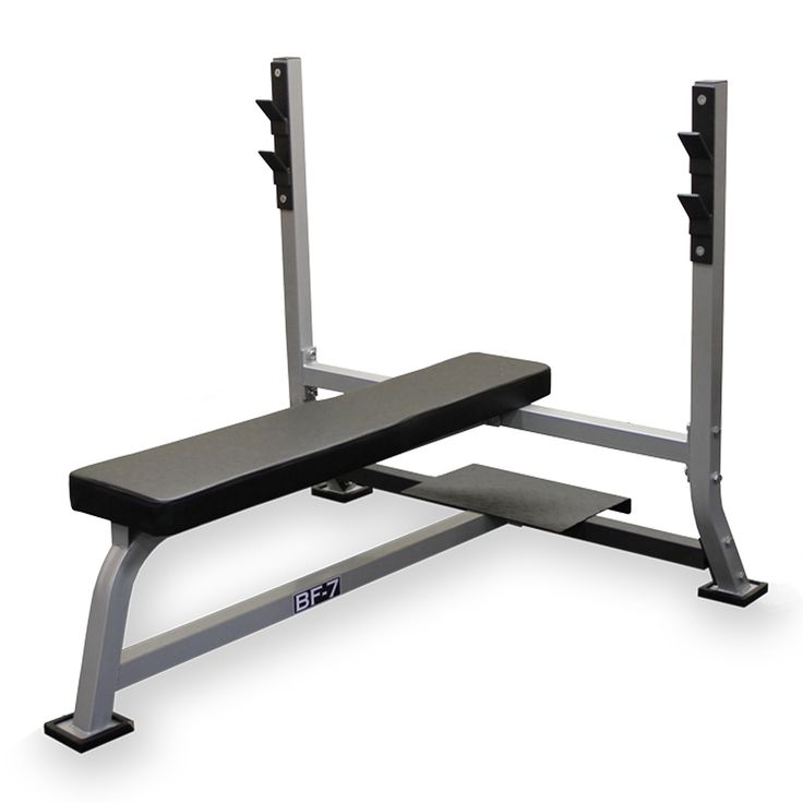 Valor Fitness Bf 7 Olympic Bench With Spotter Flat Position Bench Position Used For Classic Bench Press Exercise No Equipment Workout Bench Press At Home Gym