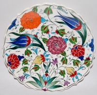 Turkish Ceramic Plate **** Free Shipping****