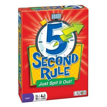 PATCH 5 Second Rule Board Game - Walmart.com