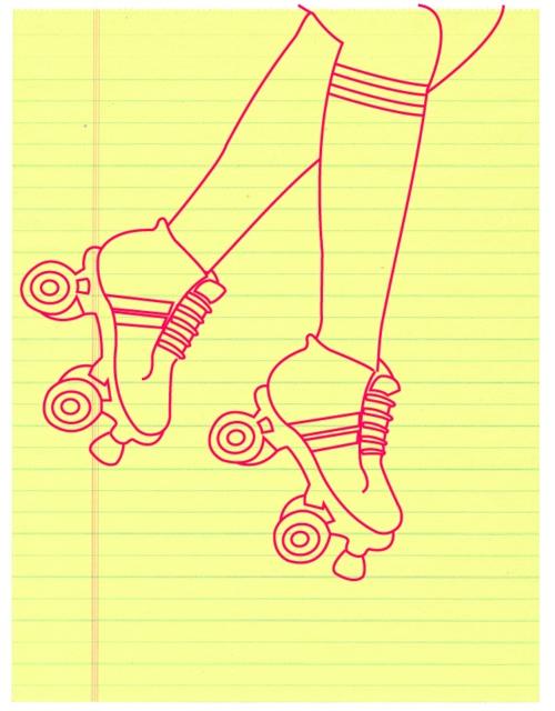 memo pad drawing