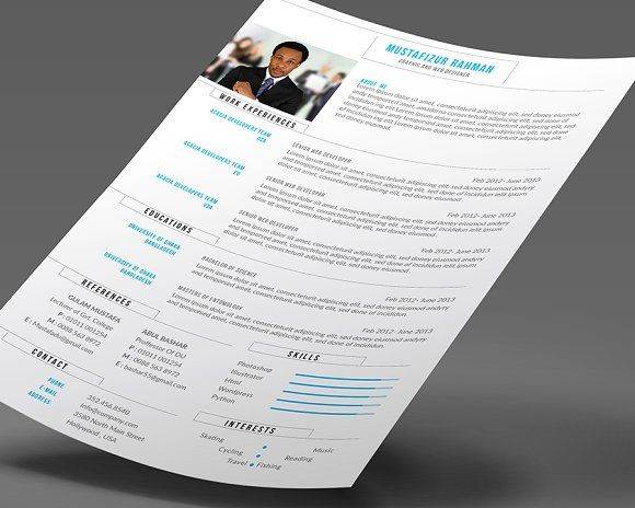 3198 best Best Resume Templates images on Pinterest Business - resume business cards