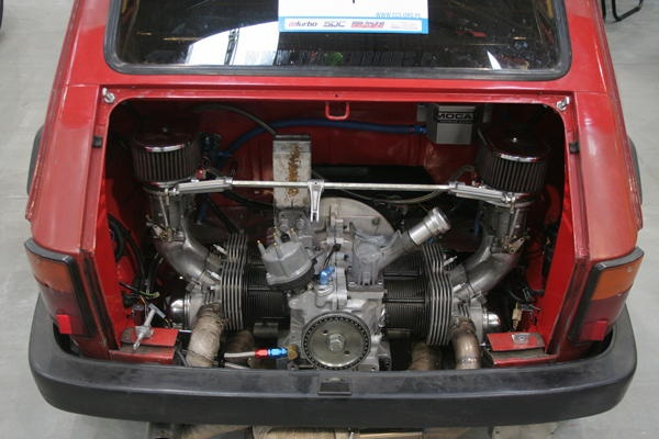 VW powered Fiat 126p