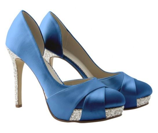 Christy in royal blue