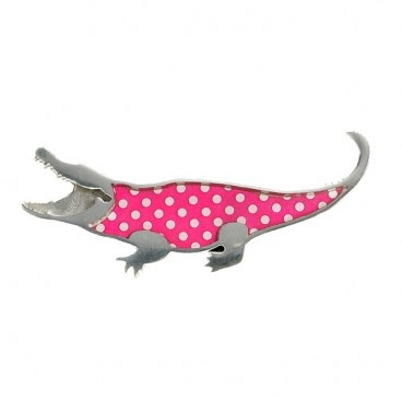 Cheryl Barnes: Crocodile Brooch  Retail: £20.00