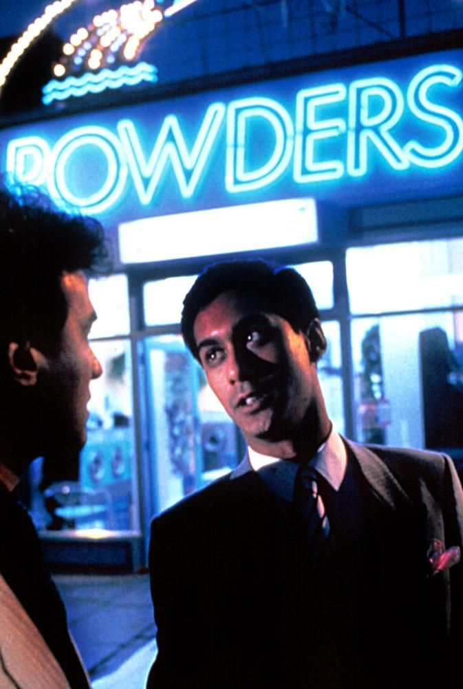 Daniel Day-Lewis, Gordon Warnecke, 1985  | Essential Gay Films To Watch, My Beautiful Laundrette http://gay-themed-films.com/films-to-watch-my-beautiful-laundrette/
