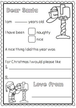 a christmas writing pack for kindergarten and year 1 christmas kindergarten first grade. Black Bedroom Furniture Sets. Home Design Ideas