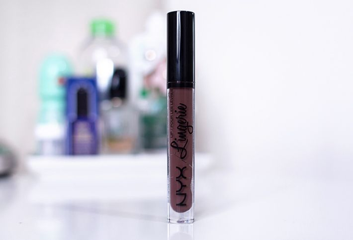 Fresh Lengths: NYX Lip Lingerie Lipstick in Teddy