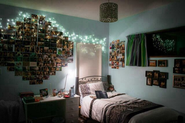 tumblr room. ♡ tumblr rooms can be blue too haha :D