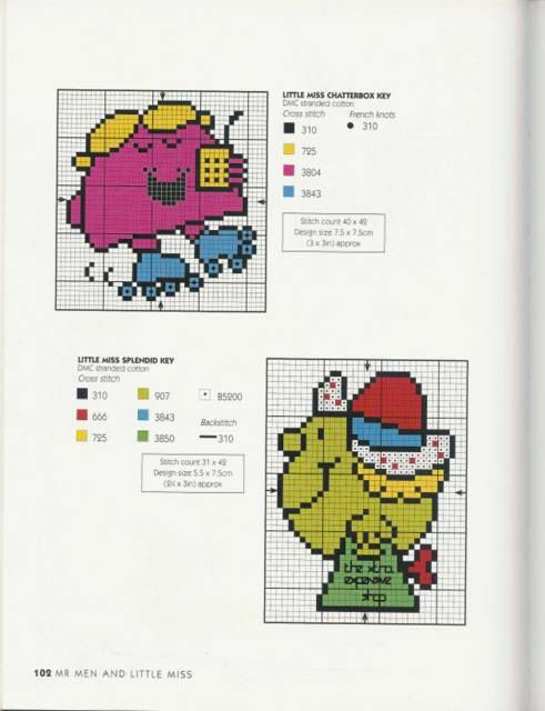 Gallery.ru / Фото #87 - Adele Welsby`s - Cross Stitch Characters - anfisa1