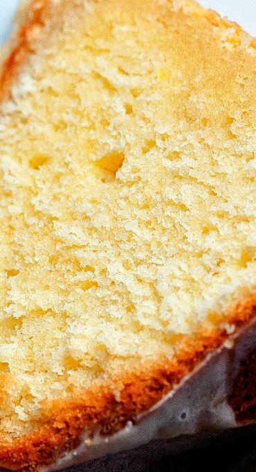 Lemon Mascarpone Pound Cake