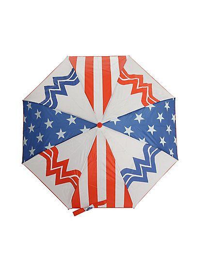 DC Comics Wonder Woman Panels Compact UmbrellaDC Comics Wonder Woman Panels Compact Umbrella,