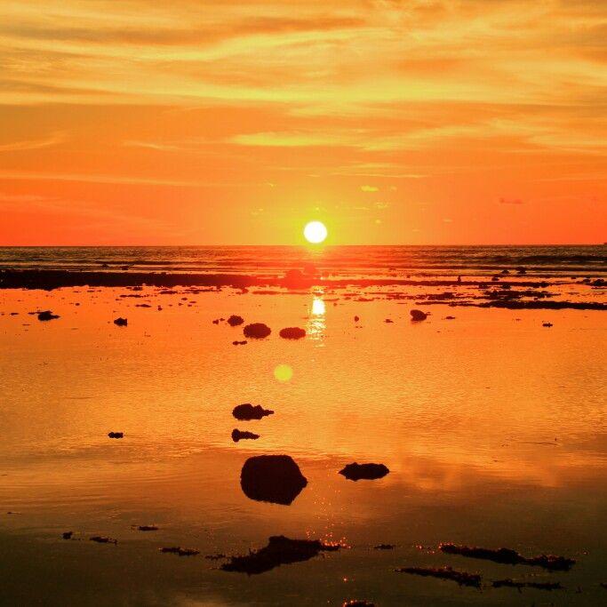 Beautiful sunset from Grand Luley Resort Manado
