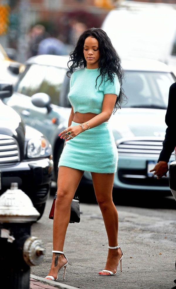 Rihanna de mini e cropped!