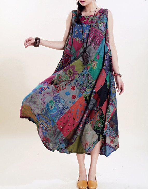 Romantic sleeveless long sundress maxi dress
