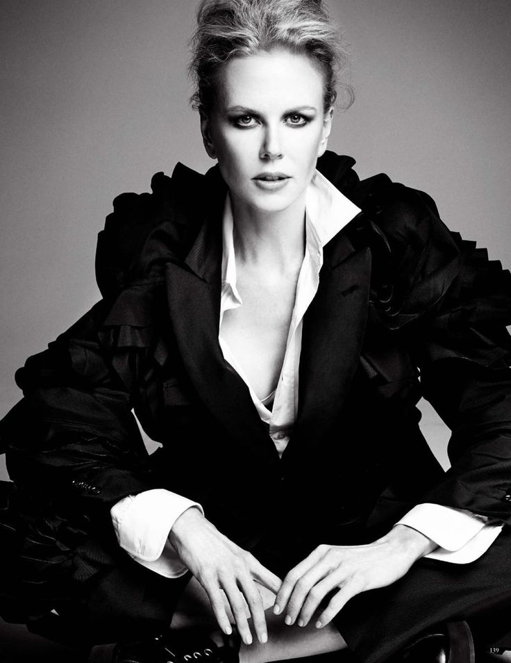 Nicole Kidman by Patrick Demarchelier for Vogue Germany