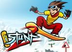 iStunt Snowboard - http://www.littlemonstersgames.com/istunt-snowboard/ -  Hit the Alps at full speed on a snowboard and pull off daring stunts scoring as many points as possible. Become the iStunt 2 legend! Also available on the iPhone and iPod Touch and iPad! Instructions
