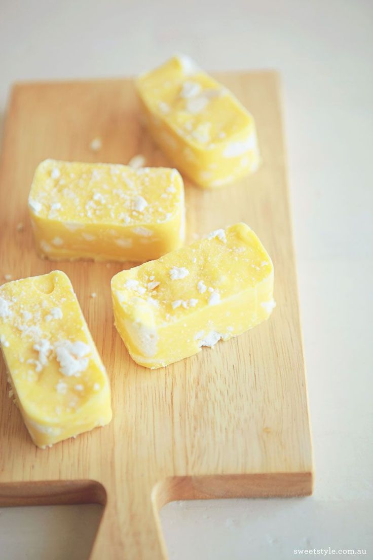 » Recipe :: Lemon Meringue Fudge www.sweetstyleblog.com.au