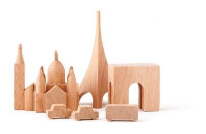 Muji Paris wooden city