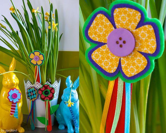 DIY: Frühlingsbuttons   aprilkind – Näh' dich glücklich!