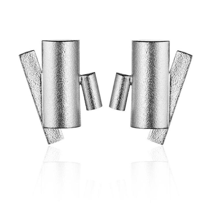 SUMA  Design Mari Isopahkala / Silver Earrings / Lapponia Jewelry / Handmade in Helsinki