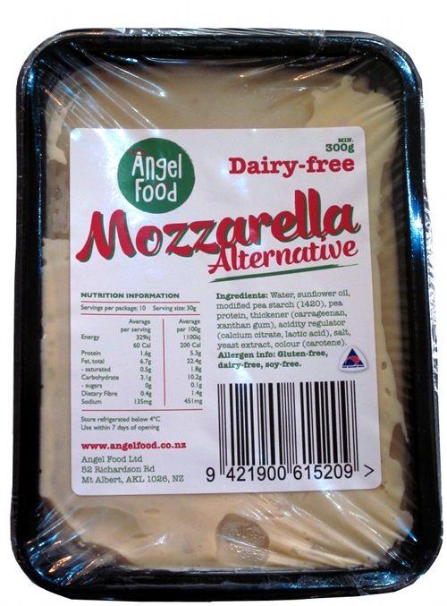 Angel Food Dairy Free Mozzarella Alternative 300g