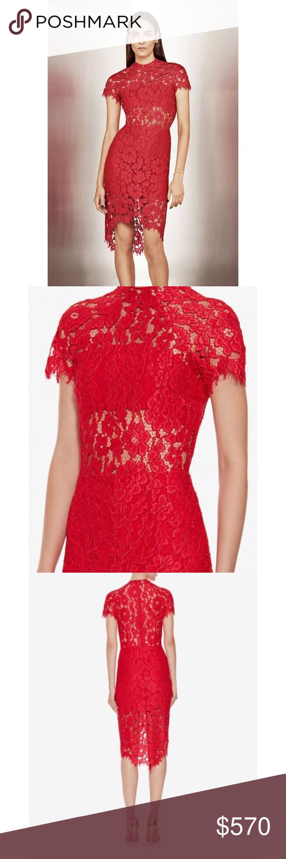 ALEXIS ELSEN RED LACE DRESS INTERMIX only SOLD OUT ALEXIS ELSEN RED LACE DRESS * INTERMIX EXCLUSIVE * SOLD OUT * SZ SMALL... New without tags Alexis Dresses