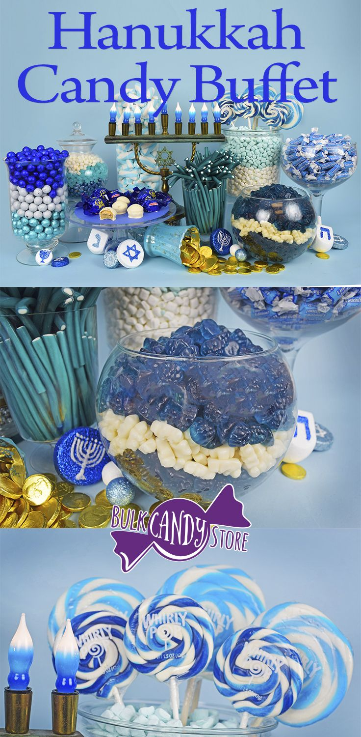 Check out BulkCandyStore's blog post on creating the perfect Hanukkah Candy Buffet !