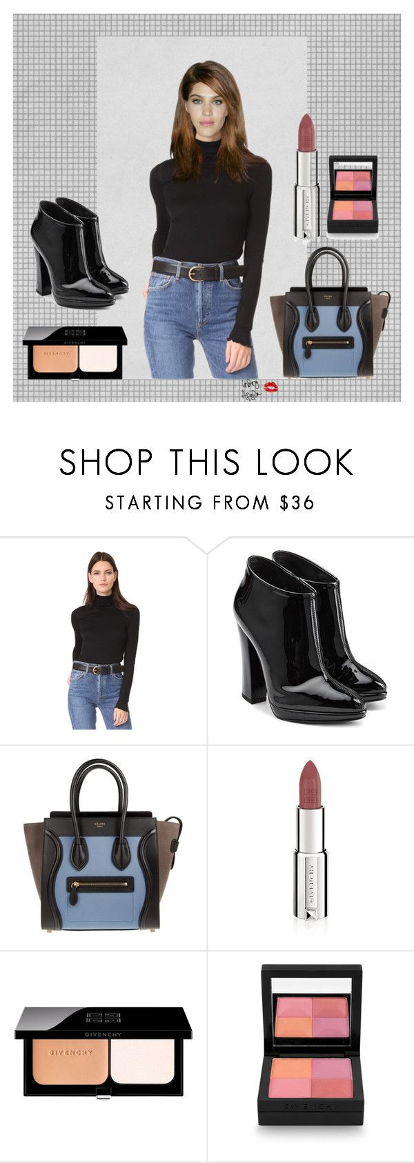 """""""Alexa Chung X Givenchy"""" by indryafyla ❤ liked on Polyvore featuring Ella Moss, Giuseppe Zanotti, CÉLINE, Givenchy, beautiful, celine, girl and alexachung"""