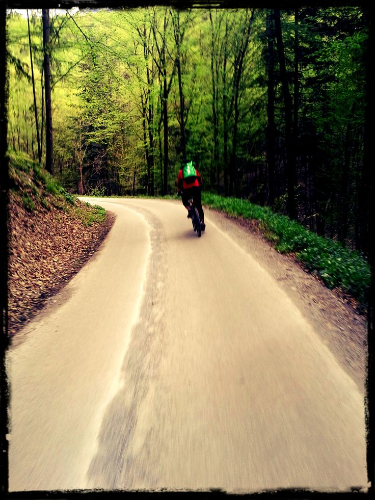 A po práci začala legrace :) 6 km před námi