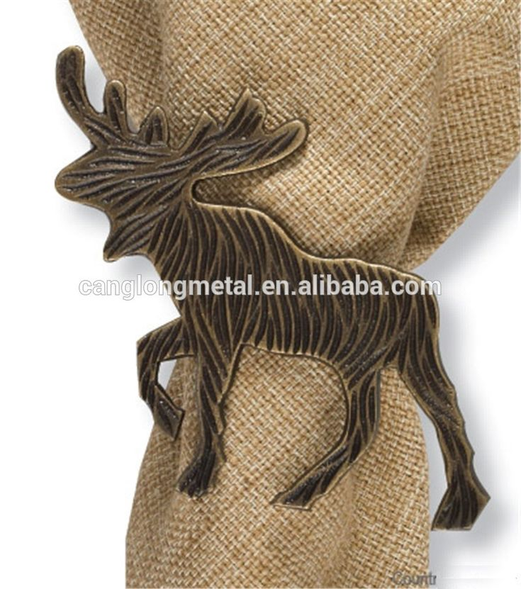 Check Out This Product On Alibaba.com App:brushed Gold Stag Reindeer Napkin  Ring