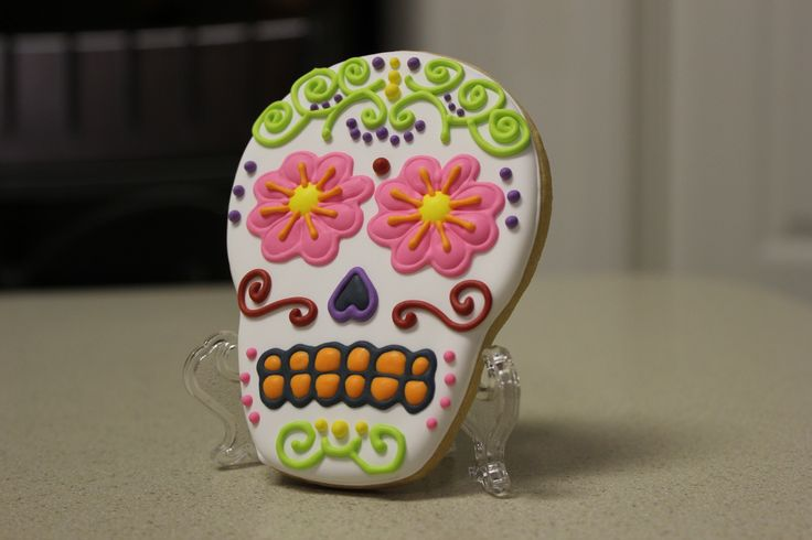 Cookies! - Day of the Dead Cookies 4-22-13