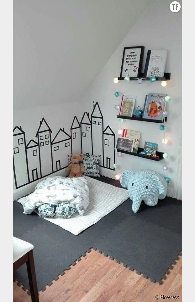 die besten 25 montessori kleinkind schlafzimmer ideen auf. Black Bedroom Furniture Sets. Home Design Ideas