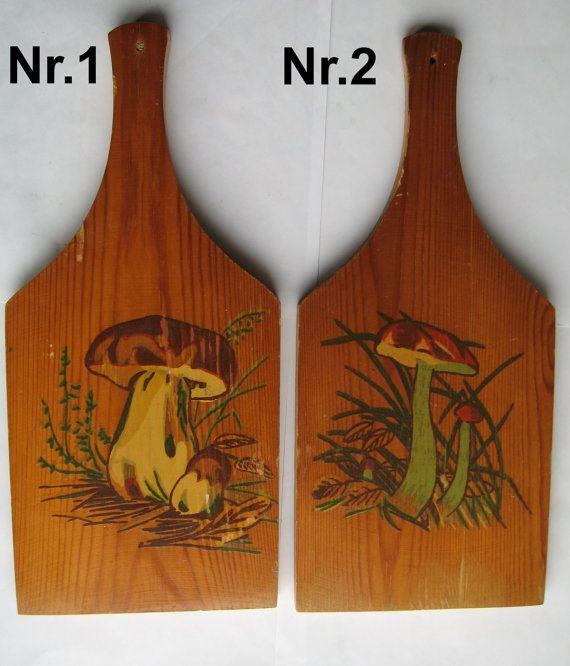 Винтажные деревянные разделочные доски. Покрыты от VIRTTARHAR