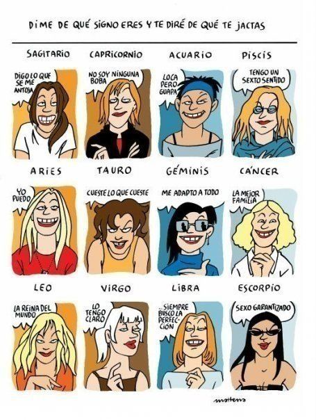 Maitena - Zodiac Signs