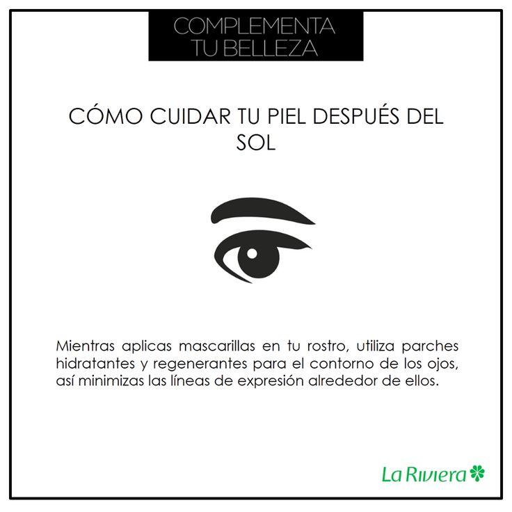 Tips de belleza ¡Debes tener especial cuidado con el contorno de los ojos! #TipsLaRiviera