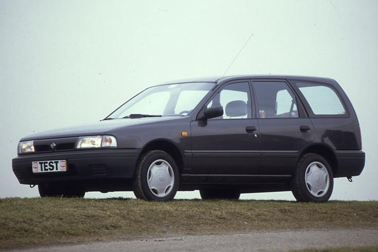 Nissan Sunny Wagon. Een van de betrouwbaarste.