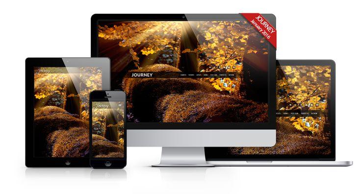 Fullscreen Header #webdesign #joomla #template http://www.joomlage.com
