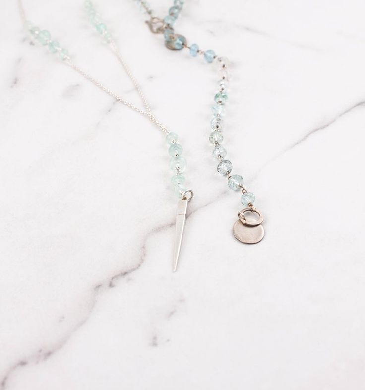 Baby blues! Our two styles of lariats have been hitting the shop in a variety of…