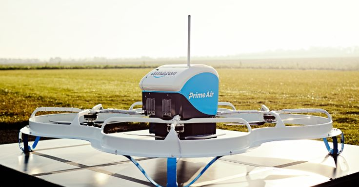 Amazon have started a small private drone delivery trial in the UK. Shoppers can now order their goods by drone. Over time, Amazon plans to expand this trial to a few dozen — and later to hundreds — of shoppers. The full flight happens autonomously, including the landing, and the idea is to ensure that all deliveries arrive within 30 minutes. The current batch of customers will be able to order seven days a week, but only during daylight hours and when the weather is okay to fly.