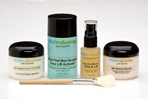 Leigh Valentine Non Sugical Face Lift Kit by Leigh Valentine. $69.95. Firmer, Tighter, Toned Skin on Eyes, Face, Neck, and Hands!. Clinically Proven Results. Look 10 years younger in 30 minutes/  50% MORE PRODUCT!. Results after the very first use. 57% Less Deep Wrinkles with Matrixyl. Lifts ? Tightens ? Tones - What More Could You Ask For? Tired of that sagging feeling? Have you been looking in the mirror and noticed Droopy looking back? Are you ready to do something abo...