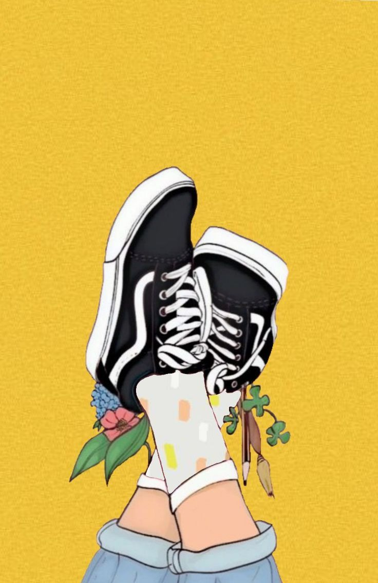 Vans tumblr background yellow – #background #tumbl…