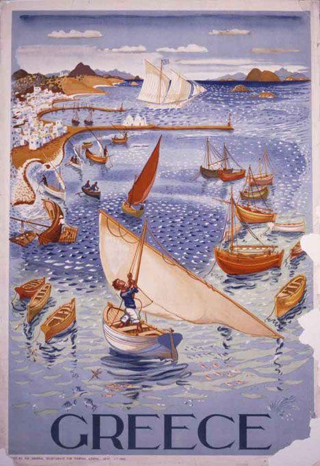Greek poster