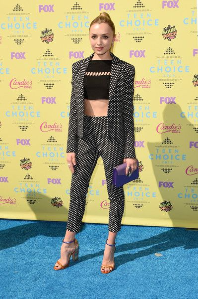 Actress Peyton List attends the Teen Choice Awards 2015 at the USC Galen Center on August 16, 2015 in Los Angeles, California.