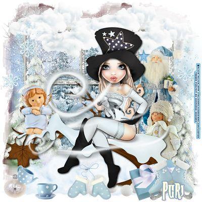 "MI RINCÓN GÓTICO: CT for Diamonds Designs,""Blue Christmas"""