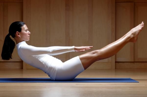 Cómo hacer pilates para el abdomen