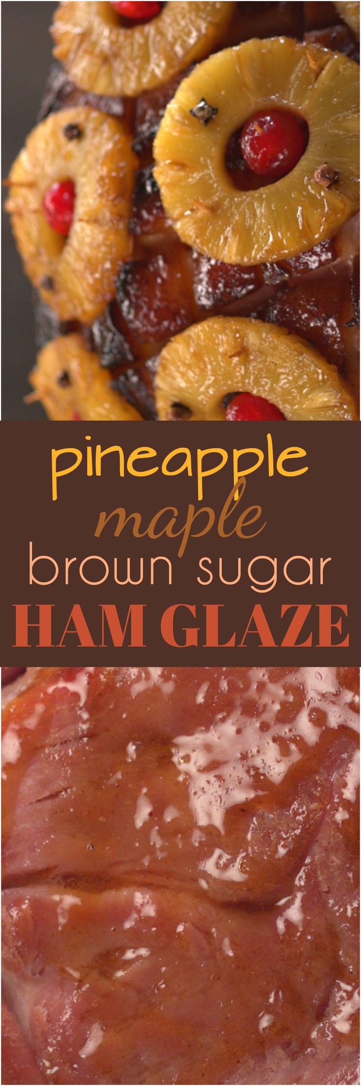 The leftover pineapple juice from the can goes into the bottom of your roasting pan to make the ham extra moist and flavorful. Plus, we'll show you how to transform the drippings into a homemade gravy so delicious you'll want to drown all the side dishes in it.
